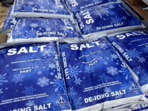 Be Prepared Rock Salt De-icing Salt in Stock
